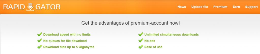 rapidgator-premium-features