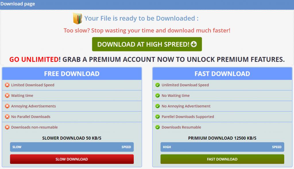 wdupload premium account